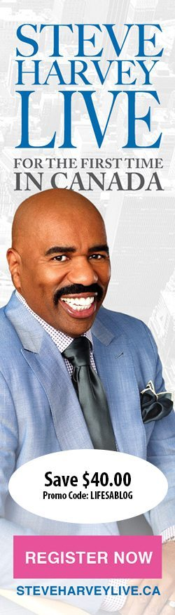 Steve Harvey in Canada