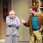 Paul Brown and Gordon Gammie in The Crazy Time, 2015 Season copy