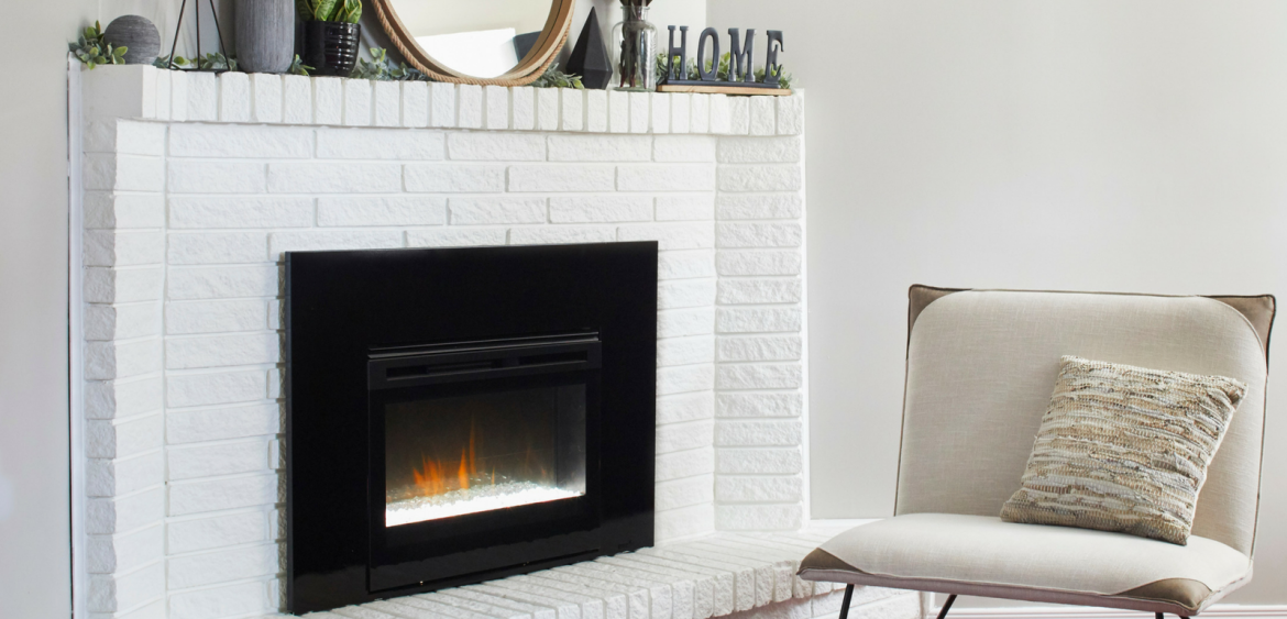 Gas To Electric Fireplace Remodel With Dimplex North America